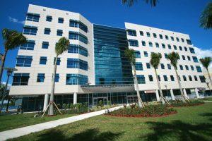Mixed use building at Florida International University