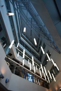 Florida International University, Mixed Used Building Atrium, Miami, FL